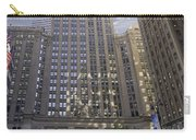 New York In Vertical Panorama Carry-all Pouch