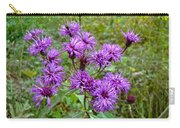 New York Ironweed Wildflower - Vernonia Noveboracensis Carry-all Pouch