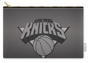 New York Knicks Carry-all Pouch by Paulo Goncalves