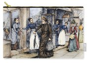New York Milliner, 1889 Carry-all Pouch