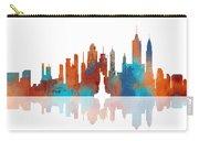 New York New York Skyline  Carry-all Pouch