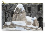 New York Public Library Lion Carry-all Pouch