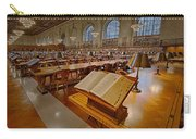 New York Public Library Rose Main Reading Room  Carry-all Pouch