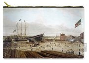 New York Shipyard, 1833 Carry-all Pouch