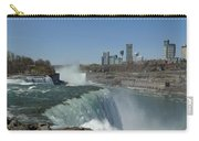 New York Side Of Niagara Falls Carry-all Pouch