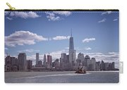 New York Skyline And Boat Carry-all Pouch
