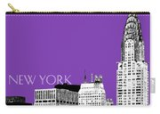 New York Skyline Chrysler Building - Purple Carry-all Pouch
