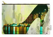 New York Skyline In A Shoe Carry-all Pouch