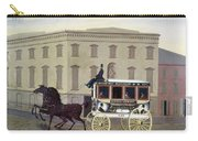 New York Stagecoach Carry-all Pouch