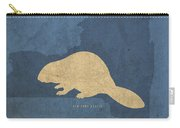 New York State Facts Minimalist Movie Poster Art  Carry-all Pouch