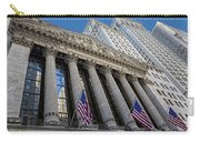 New York Stock Exchange Wall Street Nyse  Carry-all Pouch