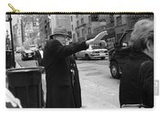 New York Street Photography 27 Carry-all Pouch by Frank Romeo