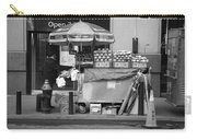 New York Street Photography 6 Carry-all Pouch by Frank Romeo