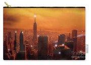 New York Sunset Carry-all Pouch by Steve Crisp