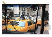 New York Taxi Cabs Carry-all Pouch