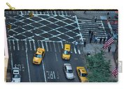 New York Taxi Rush Hour Carry-all Pouch