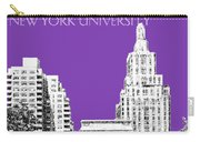 New York University - Washington Square Park - Purple Carry-all Pouch