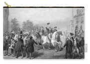 New York: Washington, 1783 Carry-all Pouch by Granger