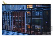 New York Window - Fire Escape In Winter Carry-all Pouch