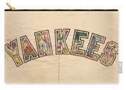 New York Yankees Poster Art Carry-all Pouch