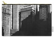 New York's Financial District Carry-all Pouch