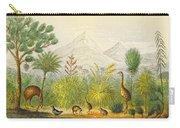 New Zealand Kiwi, Takahe, Extinct Moa Carry-all Pouch