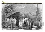 Newark Cemetery, 1876 Carry-all Pouch