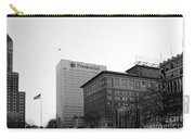 Newark  New Jersey In Black And White Carry-all Pouch