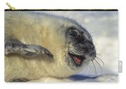 Newborn Gray Seal Pup Halichoerus Carry-all Pouch