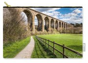 Newbridge Viaduct Carry-all Pouch by Adrian Evans