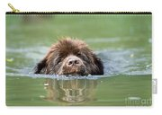 Newfoundland Dog, Swimming In River Carry-all Pouch