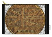 Newfoundland Flag - Brass Etching Carry-all Pouch