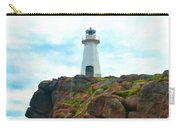 Lighthouse On Cliff Carry-all Pouch