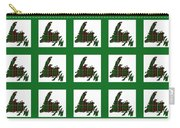 Newfoundland Tartan Map Blocks Green Trim Carry-all Pouch