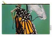 Newly-emerged Monarch Butterfly Carry-all Pouch
