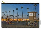 Newport Beach At Dusk Carry-all Pouch by Kelley King