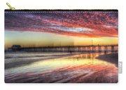 Newport Beach Pier Sunset Carry-all Pouch