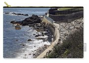 Newport's Cliff Walk View Carry-all Pouch