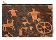 Newspaper Rock Close-up Carry-all Pouch