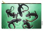 Newts  Pleurodelinae  On The Surface Carry-all Pouch