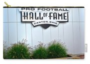 Nfl Hall Of Fame Carry-all Pouch by Frozen in Time Fine Art Photography