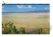 Ngorongoro Crater In Tanzania Africa Carry-all Pouch