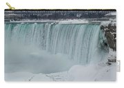 Niagara Falls Canada In Winter Carry-all Pouch