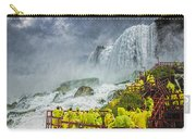 American Falls Niagara Cave Of The Winds Carry-all Pouch