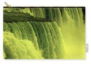 Niagara Falls Closeup Hot Wax Effect Carry-all Pouch