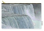 Niagara Falls Contour Drawing Effect Carry-all Pouch