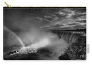 Niagara Falls In Mono Carry-all Pouch
