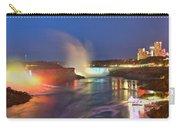 Niagara Falls Night Lights Panorama Carry-all Pouch