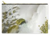 Niagara Falls On The Rocks Carry-all Pouch