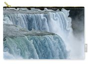 Niagara Falls With Curlicue Effect Carry-all Pouch